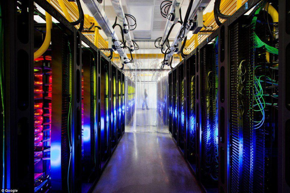 Iluminacion led data center