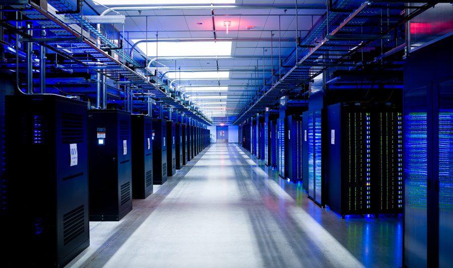 data center iluminacion led