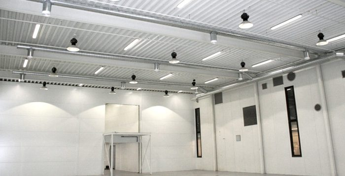 nave industrial led